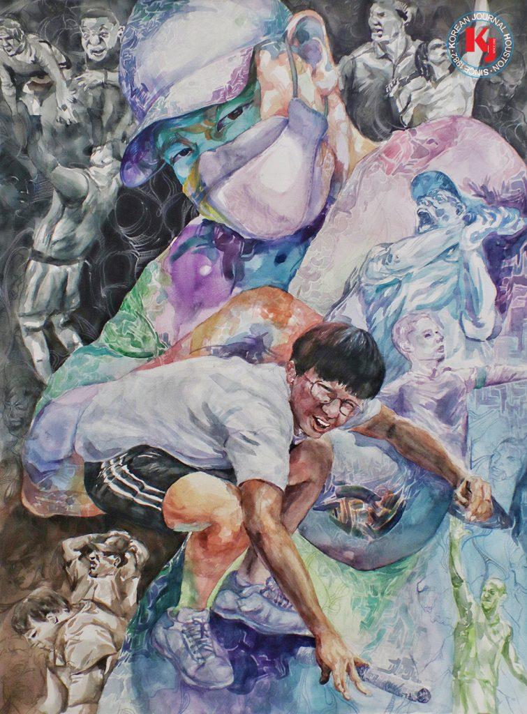 """미연방하원의원상 """"DIFFERENT TIMES""""  by  Andrew Jang10th Grade Champion   Taylor High School"""