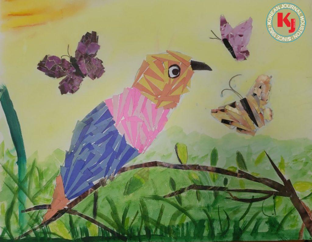 """코리안저널상 """"WISHING FLOWER""""  by  Chloe Ki2nd Grade   Lee Elementary School"""