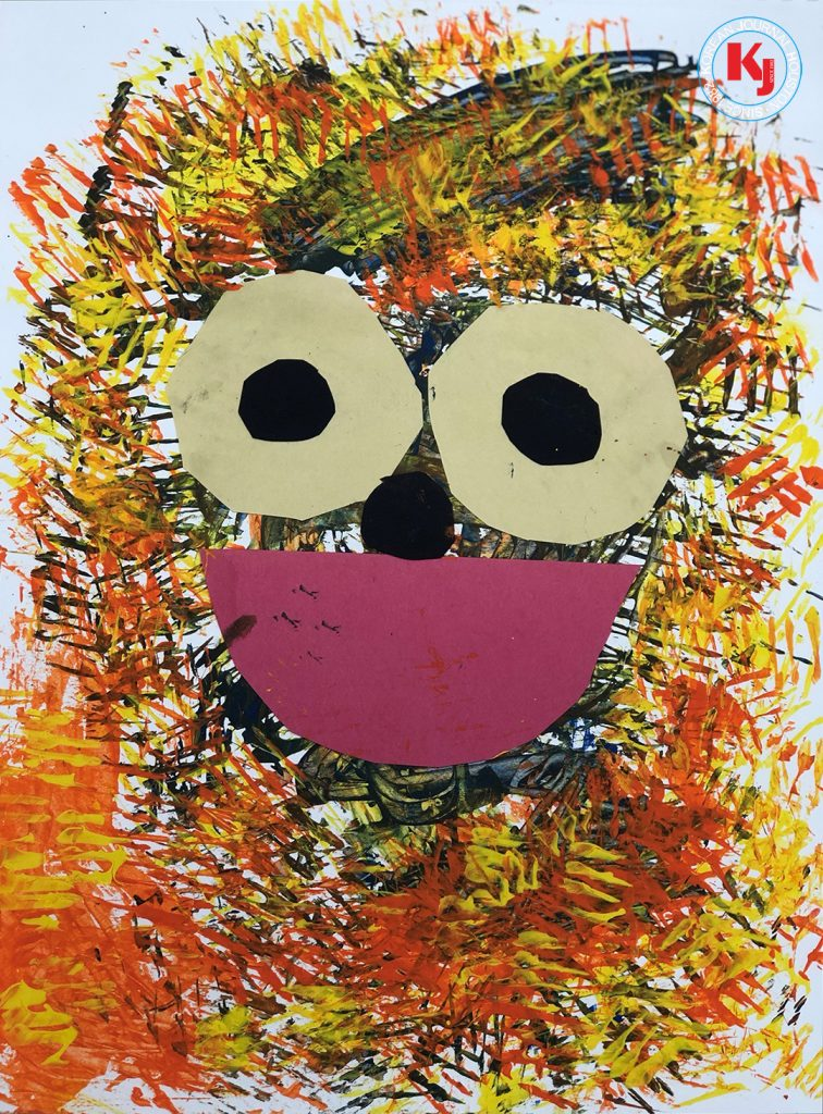 """""""HAPPY FACE"""" by  Lachlan MacleanPre Kinder   Montessori"""
