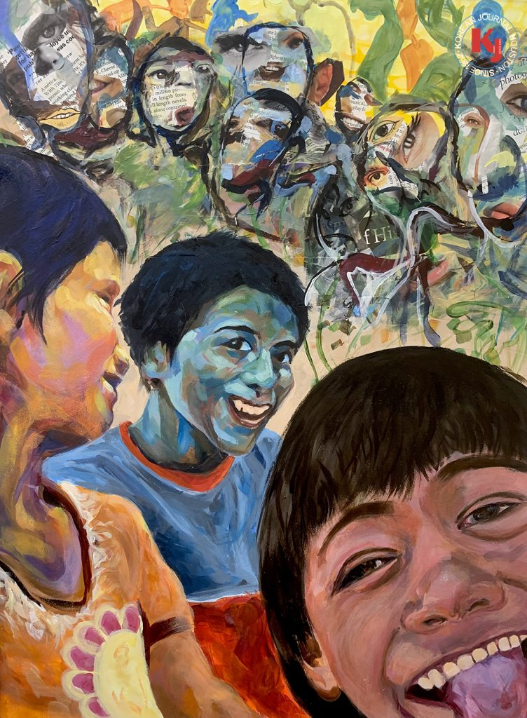 """FIND THE JOY""  by  Maggie Lu9th Grade   Memorial High School"