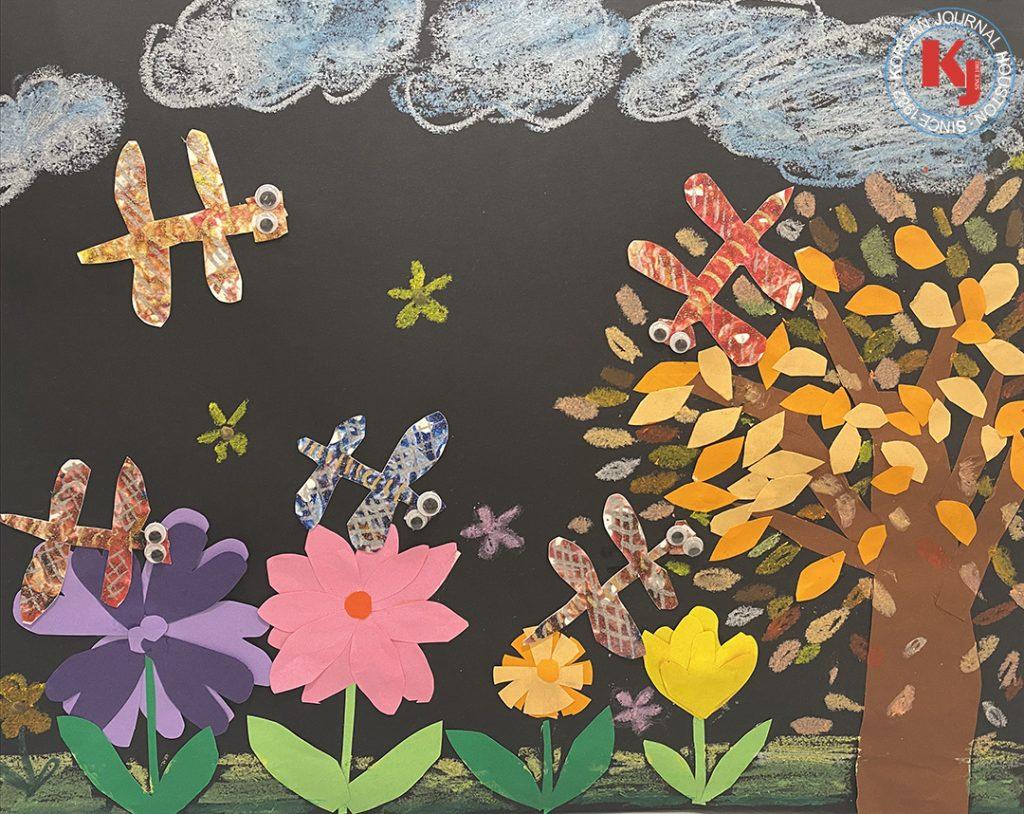 """WINTER WONDERLAND""  by  Ian Kim 1st Grade   Larkspur Elementary School"