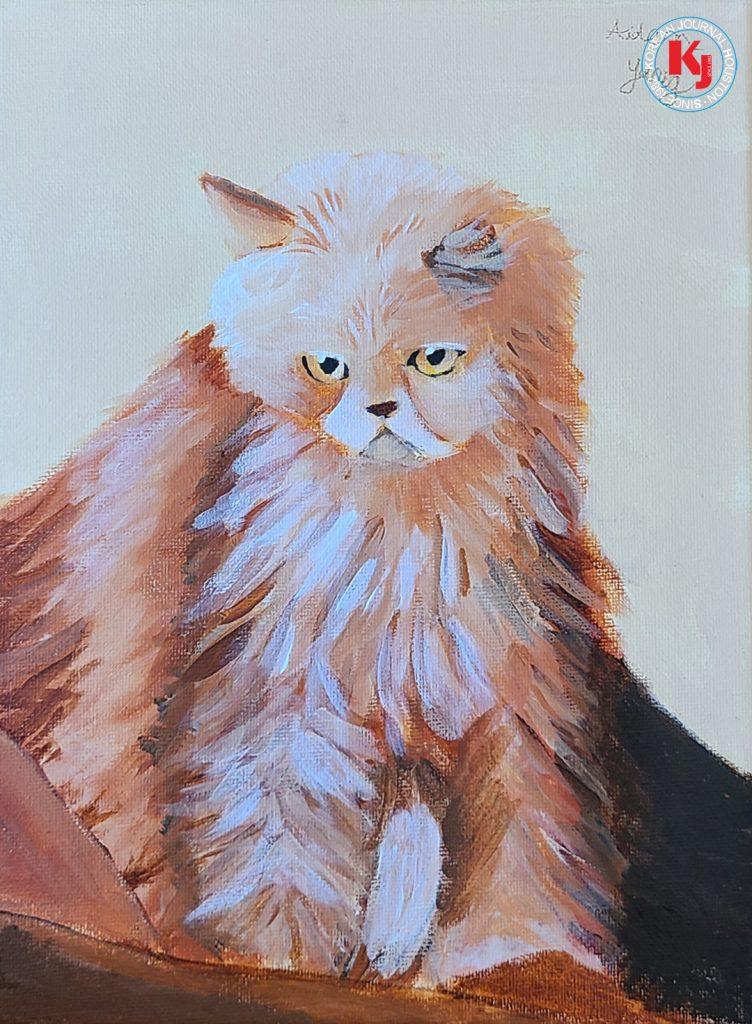 """CAT""  by  Hyeonwoo Yang5th Grade   Rummel Creek Elementary"