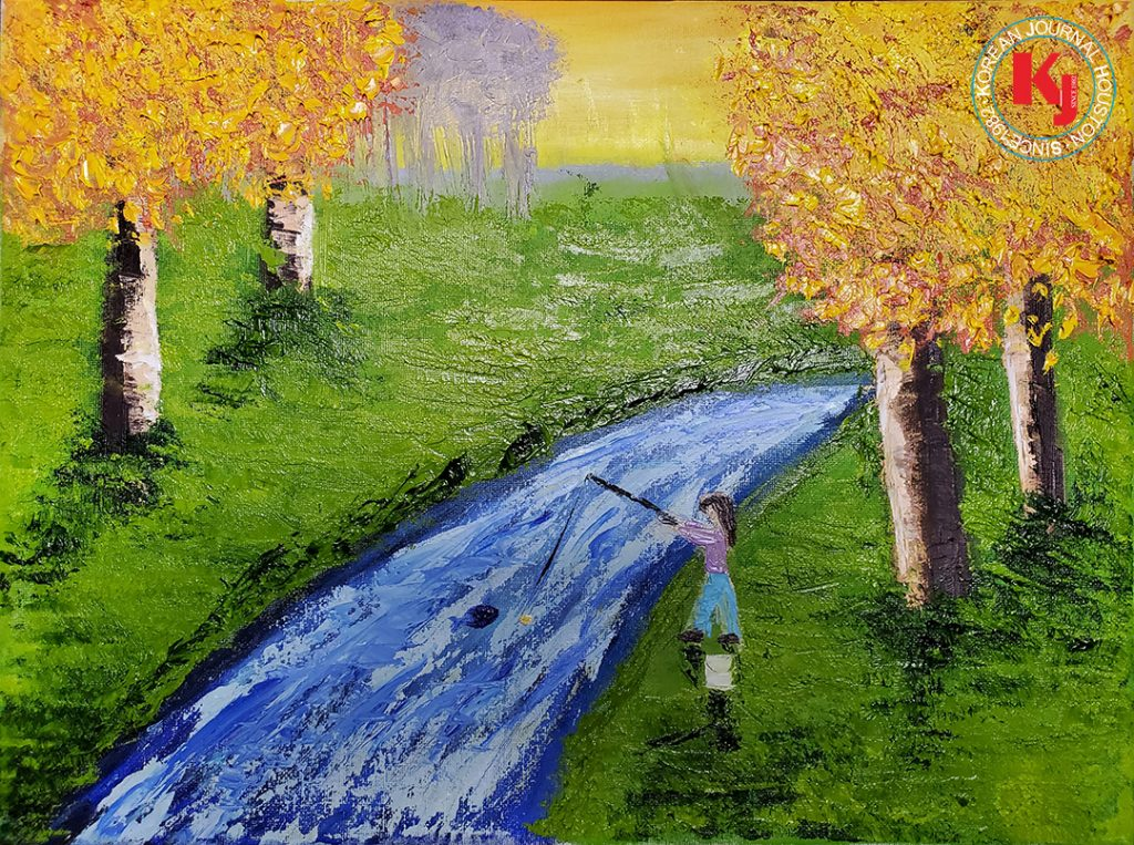 """FISHING MEMORIES""  by  Sohyun Ahn4th Grade   Reed Elementary School"