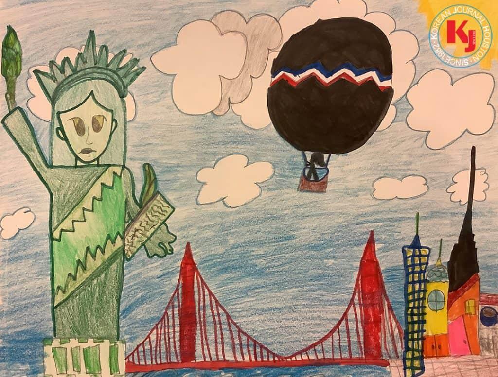 """FREEDOM""  by  Emily Park2nd Grade   St. Mark Catholic School"