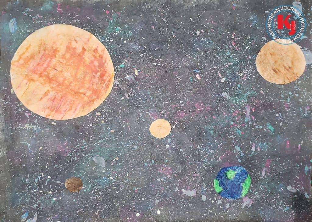 """PLANETS""  by  SeungMi Mori4th Grade   Rylander Elementary"